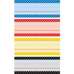 Polka Dots Word Strips Classic Colors, TCR20866