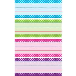 Bright Polka Dots Word Strips, TCR20867