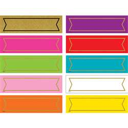 Colorful Gold Shimmer Labels, TCR20869