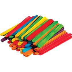 Stem Basics Multicolor Craft Sticks, TCR20921