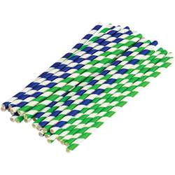Stem Basics Paper Straws 50 Ct, TCR20925