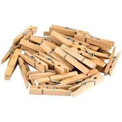 Stem Basics Medium Clothespins 50Ct, TCR20930