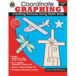 Coordinate Graphing Gr 5-8 No Cd Included By Teacher Created Resources