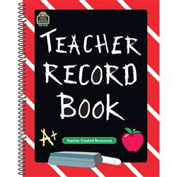 Teacher Record Book Chalkboard By Teacher Created Resources