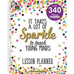 Confetti Lesson Plan Book, TCR2152