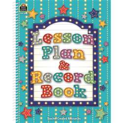 Marquee Lesson Plan & Record Book, TCR2194