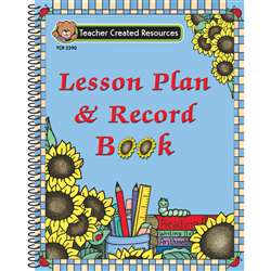 Lesson Plan & Record Book Sunflower By Teacher Created Resources