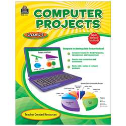 Computer Projects Gr 5-6 By Teacher Created Resources