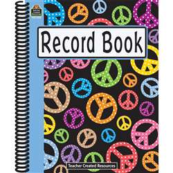 Peace Signs Record Book By Teacher Created Resources