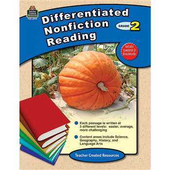 Differentiated Nonfiction Reading Gr 2 By Teacher Created Resources