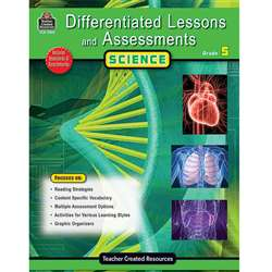 Differentiated Lessons Assessments Science Gr 5 By Teacher Created Resources