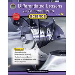 Differentiated Lessons Assessments Science Gr 6 By Teacher Created Resources