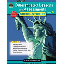 Differentiated Lessons Assessments Social Studies Gr 5 By Teacher Created Resources