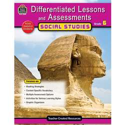 Differentiated Lessons Assessments Social Studies Gr 6 By Teacher Created Resources