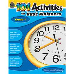 Gr 1 101 Activities For Fast Finishers By Teacher Created Resources