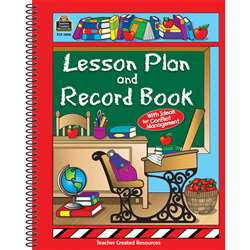 Lesson Plan And Record Book Desk By Teacher Created Resources
