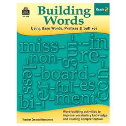 Building Words Gr 2, TCR3118
