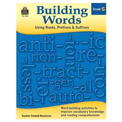 Building Words Gr 5, TCR3136