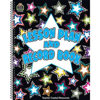 Fancy Stars Lesson Plan & Record Book By Teacher Created Resources