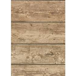 Rustic Wood Bulletin Board Roll 4/Ct Better Than P, TCR32204