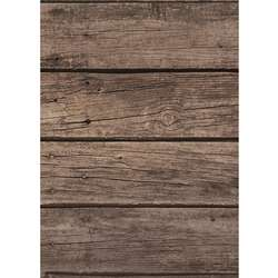 Dark Wood Bulletin Board Roll 4/Ct Better Than Pap, TCR32205