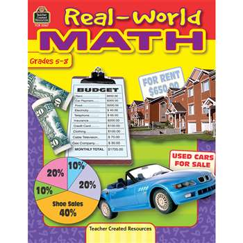 Real World Math Gr 5-8 By Teacher Created Resources
