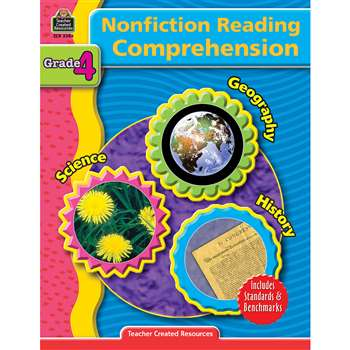 Nonfiction Reading Comprehen Gr 4 By Teacher Created Resources