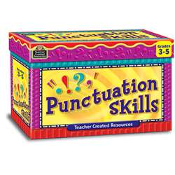 Punctuation Skill Cards Gr 3-5 By Teacher Created Resources
