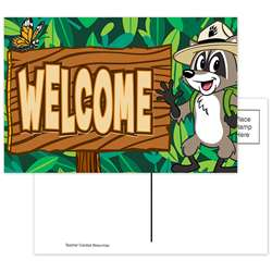 Ranger Rick Welcome Postcards, TCR3476