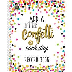 Confetti Record Book, TCR3570
