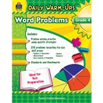 Daily Warm Ups Word Problems Gr 4 By Teacher Created Resources
