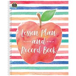 Watercolor Lesson Plan Record Book, TCR3586