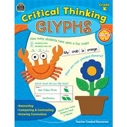 Critical Thinking Glyphs Gr K By Teacher Created Resources