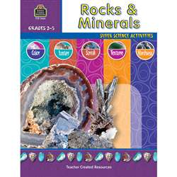 Rocks & Minerals Gr 2-5 By Teacher Created Resources