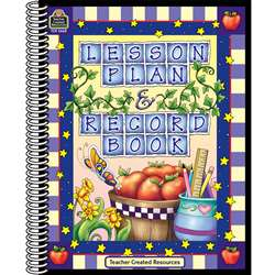Lesson Plan & Record Book Checks Purple Checks Border By Teacher Created Resources