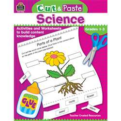 Cut & Paste Science Gr 1-3 By Teacher Created Resources
