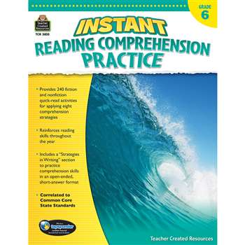 Instant Reading Gr 6 Comprehension Pratice, TCR3835