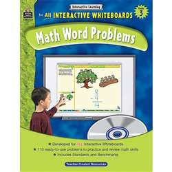 Interactive Learning Gr 3 Math Word Problems By Teacher Created Resources