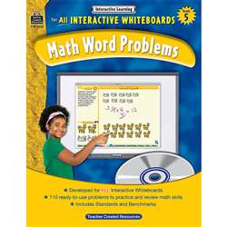 Interactive Learning Gr 5 Math Word Problems By Teacher Created Resources