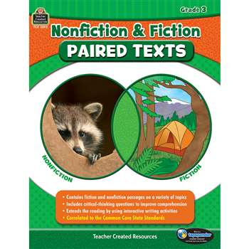 Nonfiction Fiction Paired Texts Gr3, TCR3893