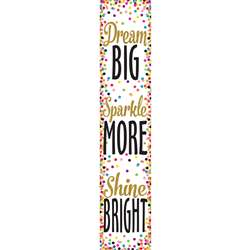 Confetti Dream Big Banner, TCR3915