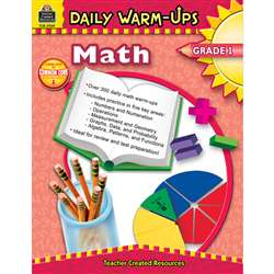 Daily Warm-Ups Math Gr 1 By Teacher Created Resources