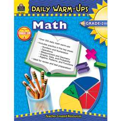 Daily Warm-Ups Math Gr 2 By Teacher Created Resources