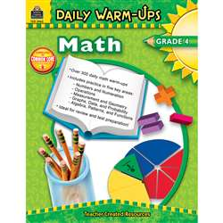 Daily Warm-Ups Math Gr 4 By Teacher Created Resources