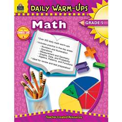 Daily Warm-Ups Math Gr 5 By Teacher Created Resources