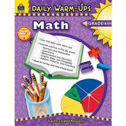 Daily Warm-Ups Math Gr 6 By Teacher Created Resources