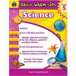 Daily Warm Ups Science Gr 5, TCR3972