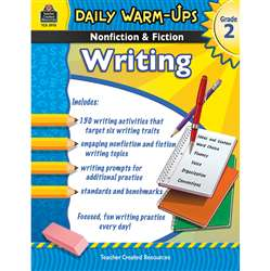 Daily Warm Ups Gr 2 Nonfiction & Fiction Writing Book By Teacher Created Resources