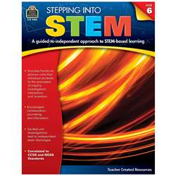 Stepping Into Stem Gr 6, TCR3980