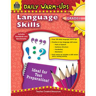 Daily Warm Ups Language Skills Gr 1 By Teacher Created Resources